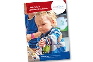 Titelbild der Fundraisingbroschüre für KITAs